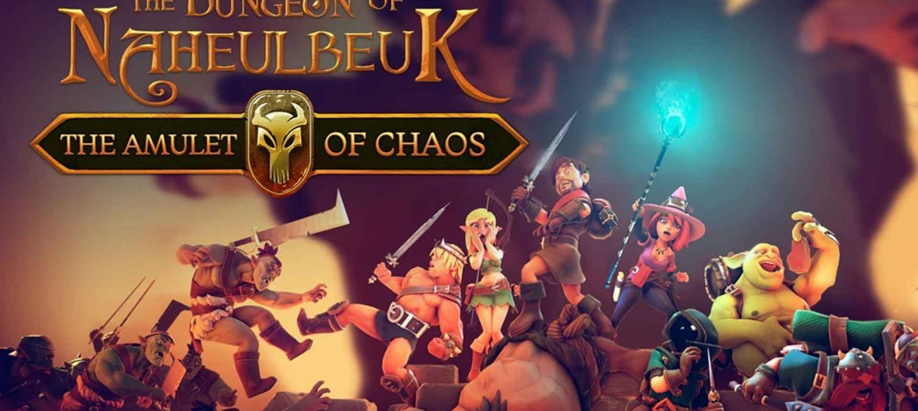 Агляд гульні The Dungeon Of Naheulbeuk: The Amulet Of Chaos