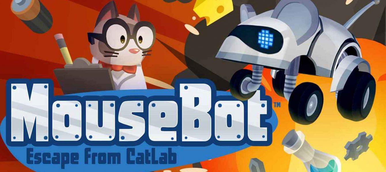 Агляд гульні MouseBot: Escape from CatLab