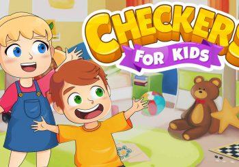 Агляд гульні Checkers for Kids