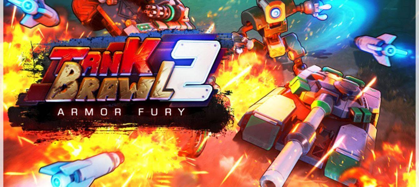Агляд гульні Tank Brawl 2: Armor Fury