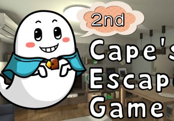Агляд гульні Cape's Escape Game 2nd room